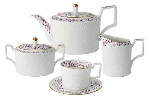 Чайный сервиз из 15 предметов на 6 персон Стиль Colombo C2-TS_15-6402AL