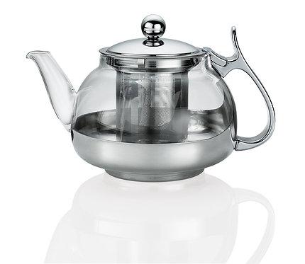 Чайник заварочный с ситечком, 1,2 л, стекло, Kuchenprofi 10.4581 28 00