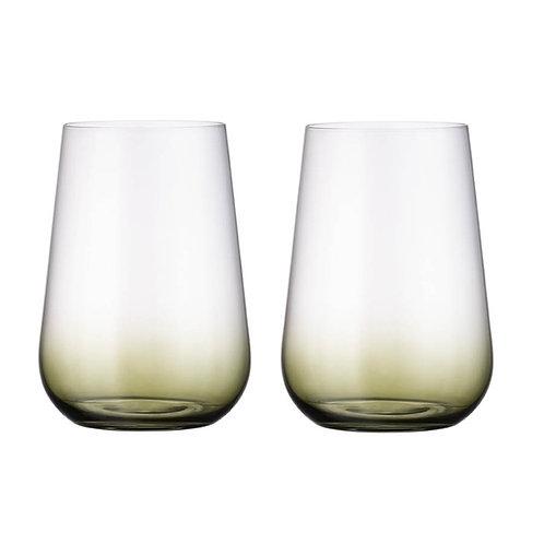 Набор стаканов для воды Амундсен, АРДЕА, Натура, хаки,470мл 2шт. 2se45/72y42/47