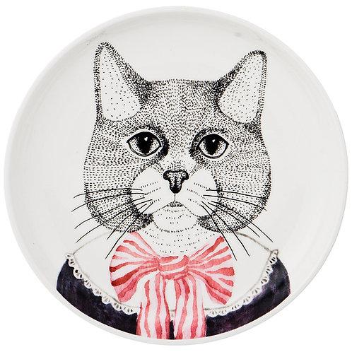 "Тарелка закусочная ""fashion animals"" 19 см. 409-121"