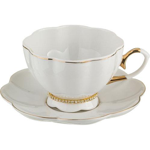 Чайный набор на 1 персону 2 пр.250 мл. 55-2301
