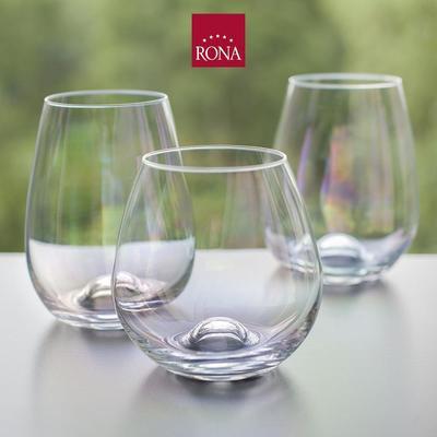 "Стакан для виски ""Drink master"" Перламутр, набор 4 шт, Rona. 4221/11563/440"