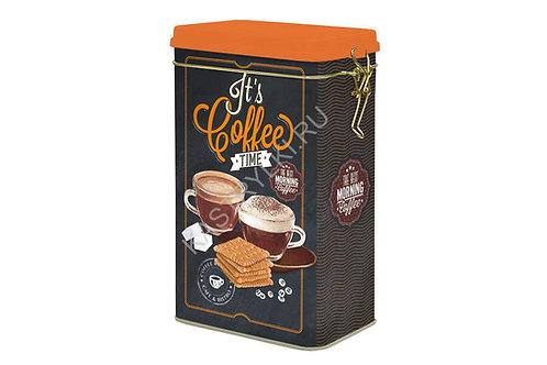 Банка для кофе 13*8*21см. R2S078/ICOT-AL