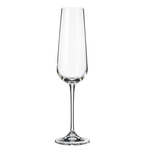 Бокал для шампанского Bohemia Amundsen 1SF57/220, 6 шт, 220 мл