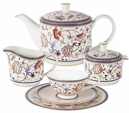 Сервиз чайный (с чайником) Anna Lafarg, 21 предм., на 6 перс. AL-M1929/21-E9