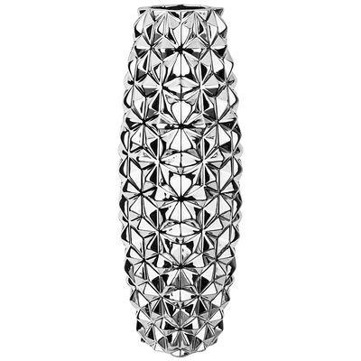Ваза серебряная коллекция 14*14*40см. 411-129