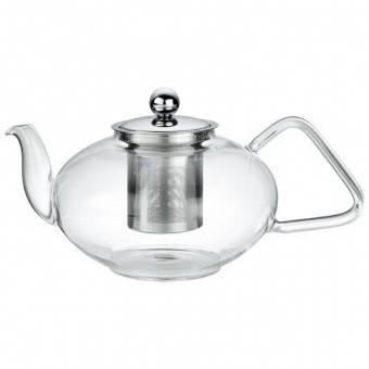 Чайник заварочный с ситечком, 1,2 л, стекло 10.4572 35 00