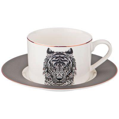 "Чайный набор на 1 пер. ""тигр"" 2 пр. 220мл 97-626"
