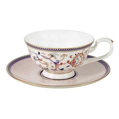 "Чашка с блюдцем 0,2л  ""Королева Анна"" al-m1929/cs-e9"