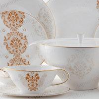 """Столовый сервиз, 23пр., """"Роял Супрем Голд"""", «Royal Porcelain», 9005/23009"""