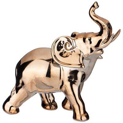 Фигурка слон золотая коллекция 17*7*17см. 411-132
