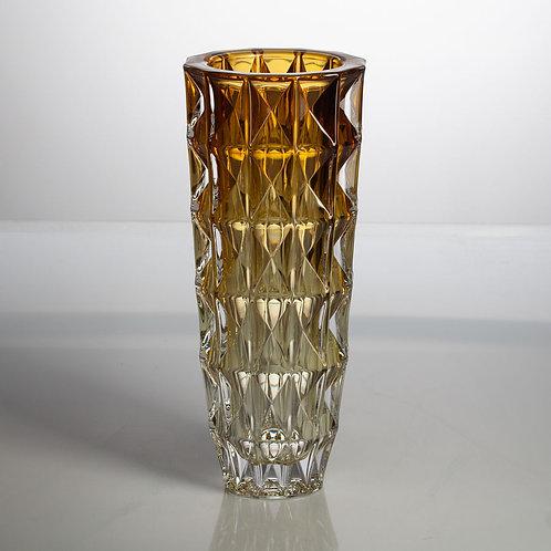 Ваза Crystalite Bohemia Диаманд 33 см, амбер 8KG31/0/72T90/330