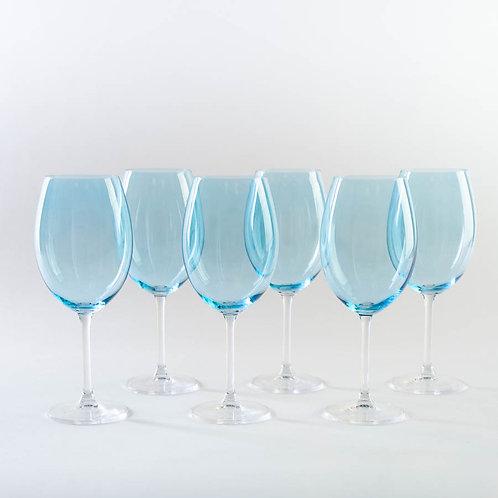 Набор бокалов для вина Гастро, Колибри, Сальмон, 580мл. 4s032/580/72u36
