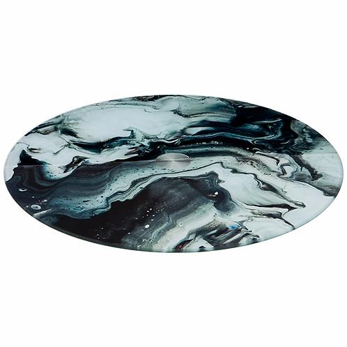 "Тортовница Agness ""Black Marble"" 357-164"