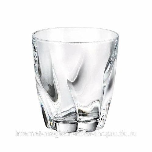 Набор бокалов Crystalite Bohemia /виски 320мл*4шт,
