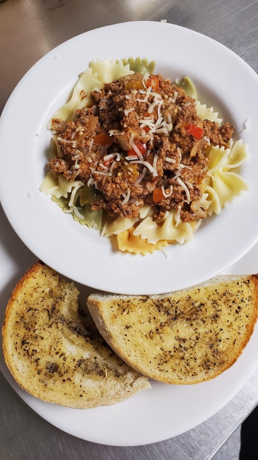 Bowtie pasta special