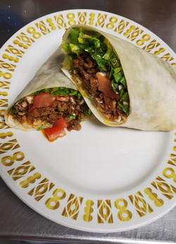 Soft taco beef or chicken