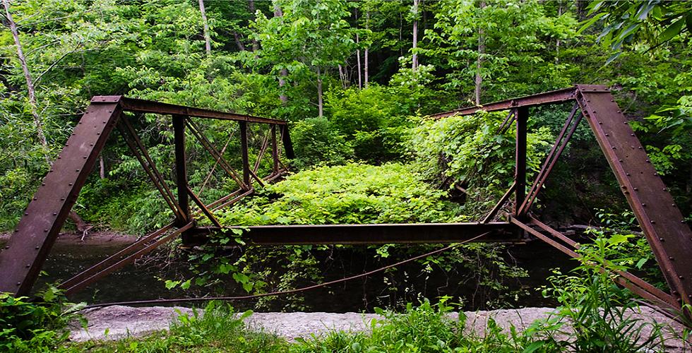 Old bridge at Hopeton