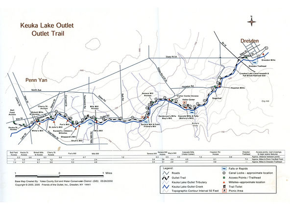 small trail map
