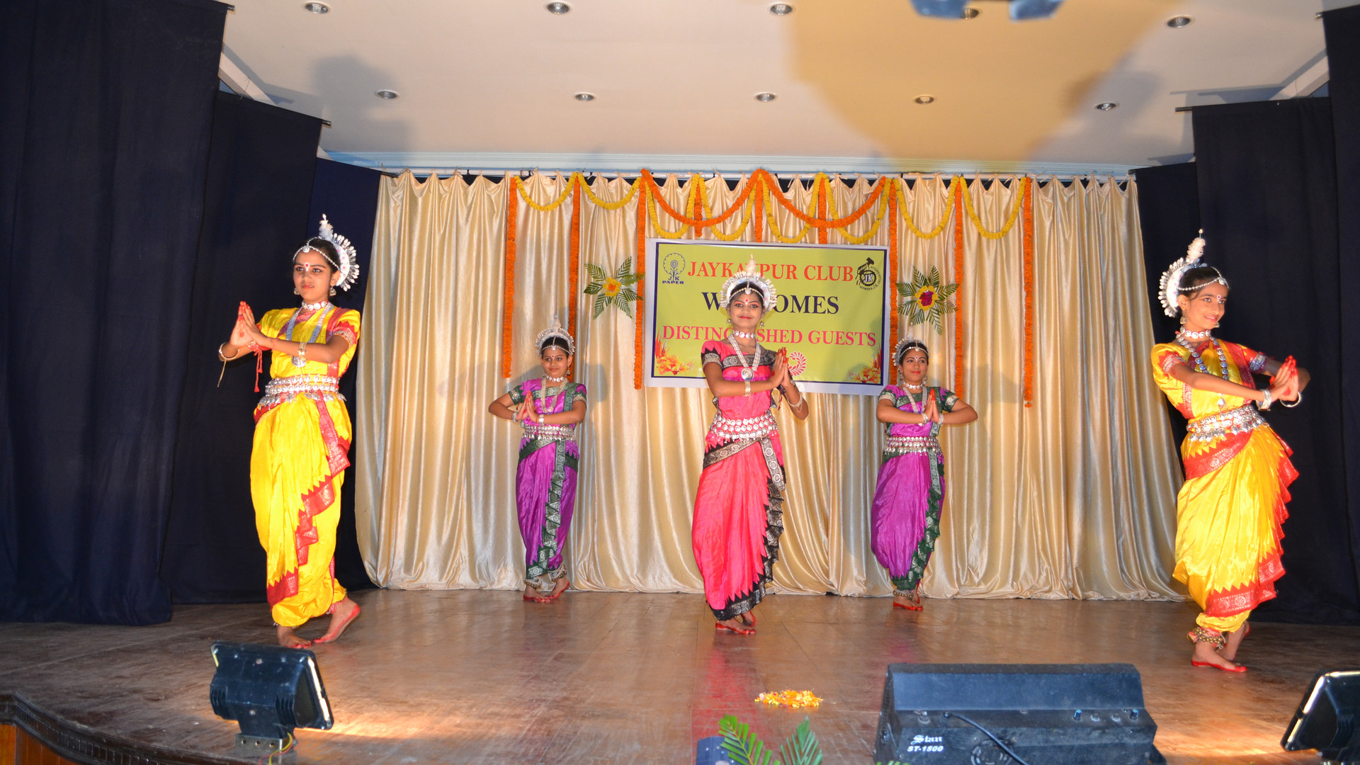 Odissi performance by our students
