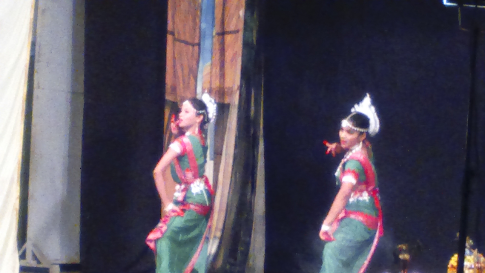 Odissi performance by students of our school on the occasion of annual function