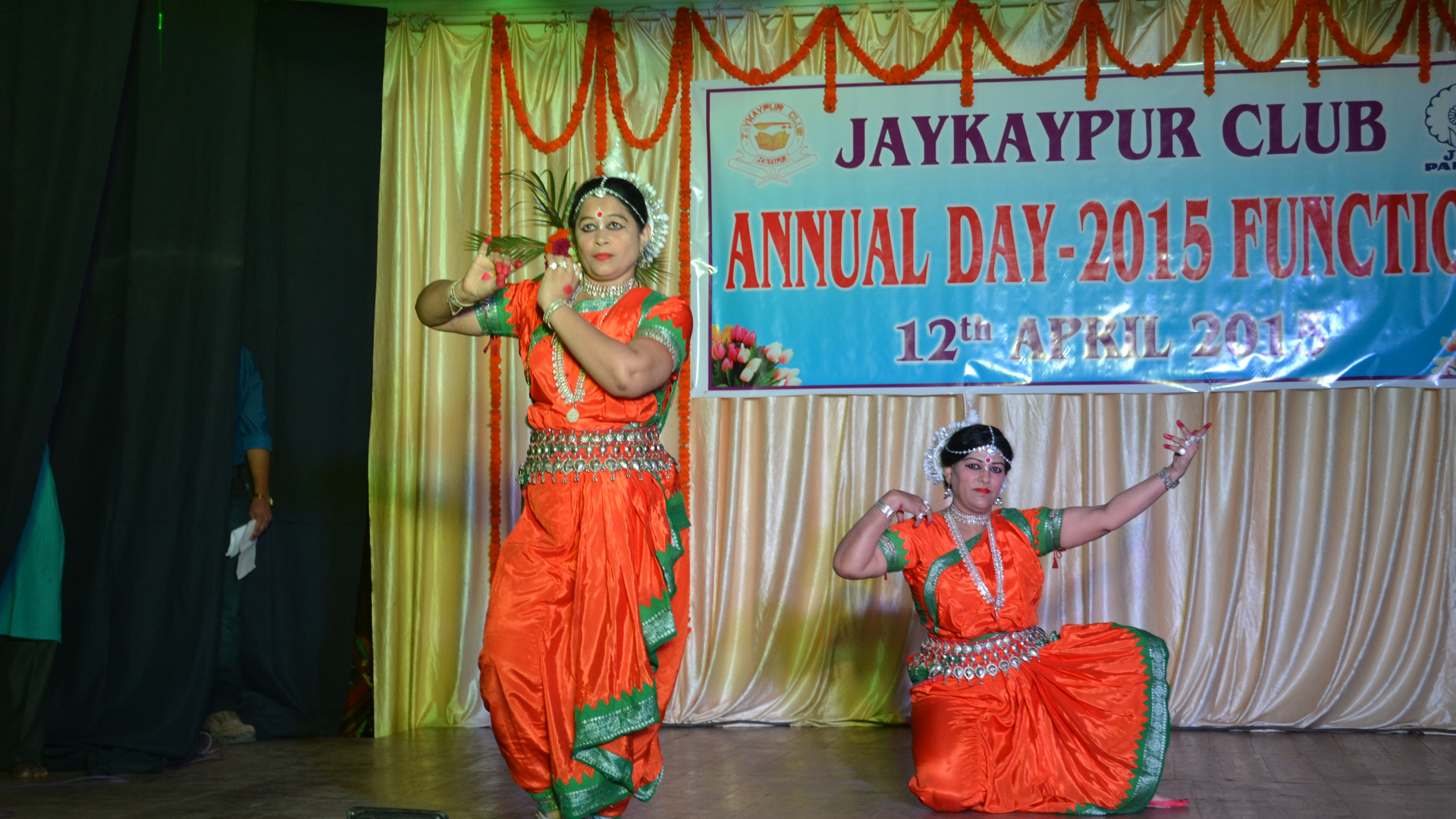 Odissi performance by the teachers at our club
