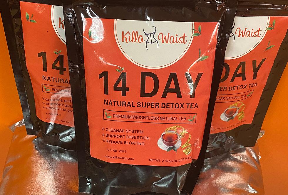 KW - Slimming All Natural Detox Tea