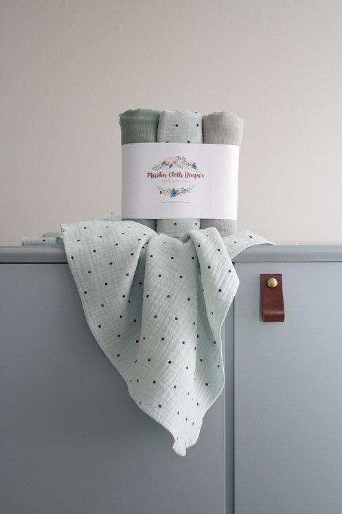 Cloth Diaper LIGHT 70x70 3/pack