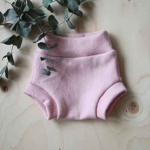 Ullblöja / wool diaper cover LIGHT PINK