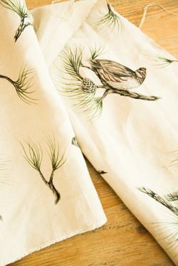 Bobwhite & Pine Linen