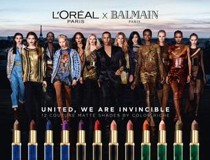 Balmain fala de diversidade da beleza em nova campanha