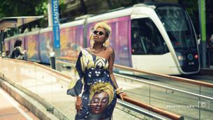 Vambora para uma intervenção de moda negra na Central do Brasil?