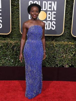 Beleza Negra no tapete vermelho do Globo de Ouro 2019