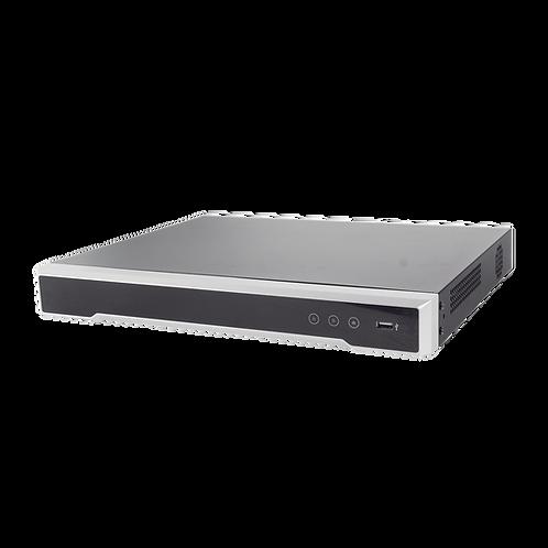 DVR 8 Megapixel / 16 Canales 4K TURBOHD + 16 Canales IP / Audio por Coaxitron