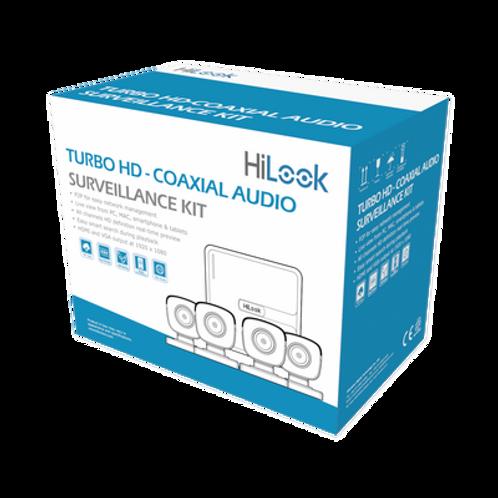 Kit TurboHD 1080p Lite/DVR 4 canales/ DD 1TB / 4 Cámaras con Micrófono Integrado