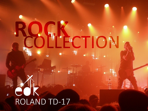 Roland TD-17 - FULL ROCK COLLECTION BACKUP