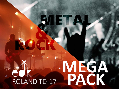 Roland TD17 - MEGA PACK
