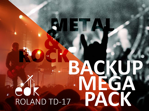 Roland TD17 - MEGA PACK BACKUP