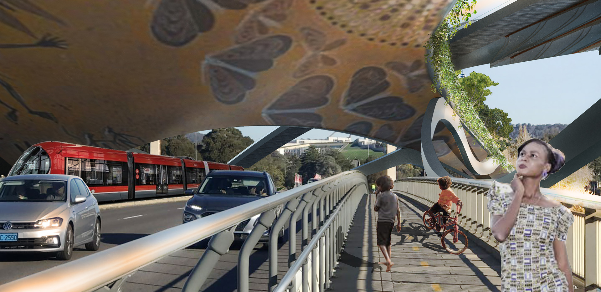 Aboriginal Art Projection