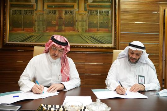 اتفاقية شراكة مجتمعية مع جمعية مراكز الاحياء