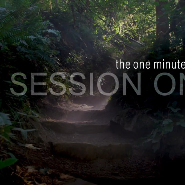 Get Your Life Back ~ The One Minute Pause