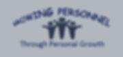 Growing Personnel logo purple blue backg
