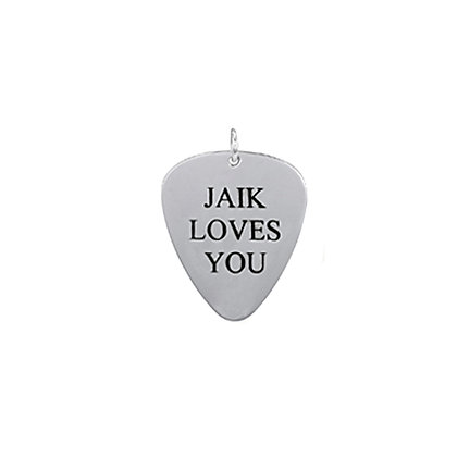 Limited Edition Sterling Jaik Loves You Pick