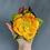 Thumbnail: Brosche gelbe Rose