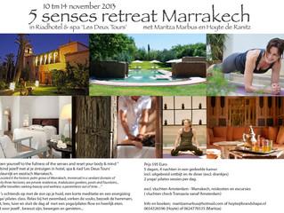 '5 senses retreat' Marrakech