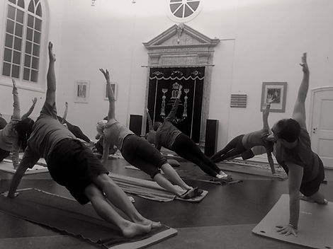 Pilates les in synagoge Weesp