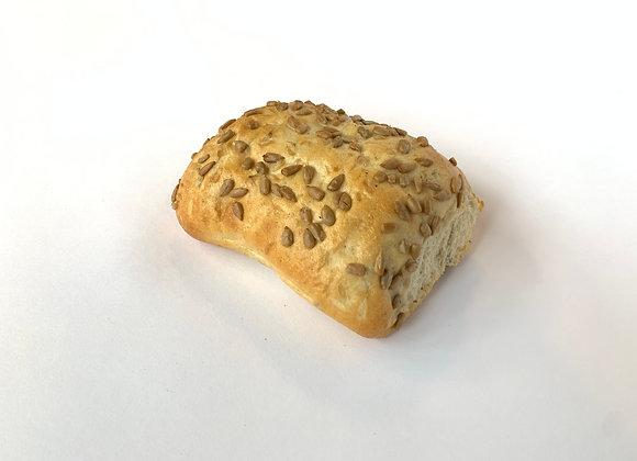 Zonnebloempitten broodje