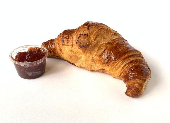 Croissant met jam
