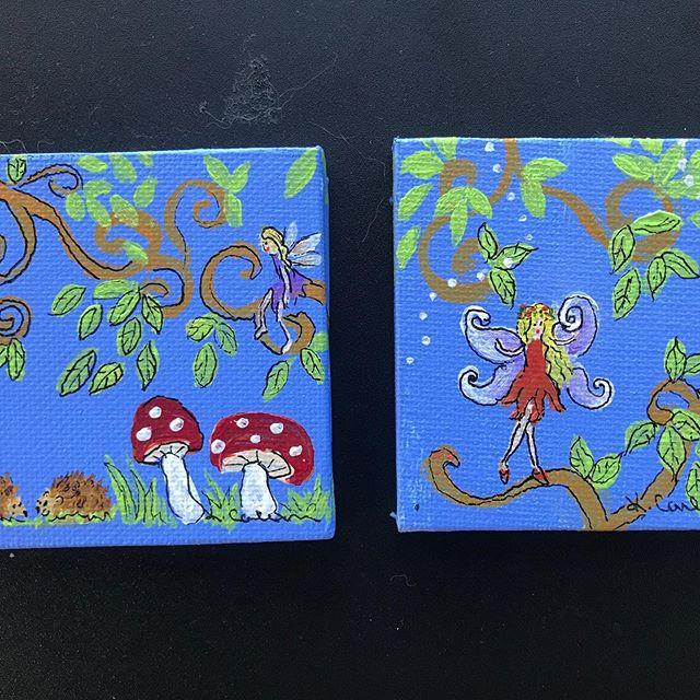 Woodland fairy art