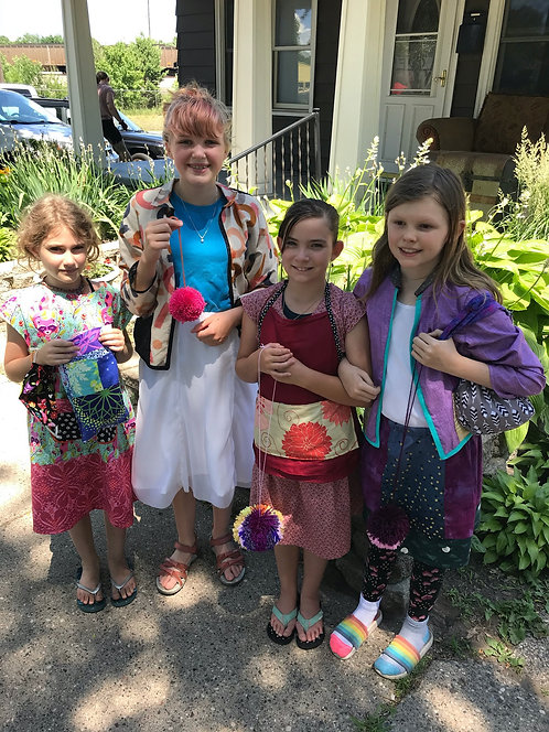 Summer Kids Camp:The Evolving Sewist - Advanced Sewing